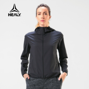 HEALY希利运动风衣女户外跑步透气速干长袖跑步训练夹克休闲外套